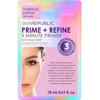 Skin Republic Prime + Refine 3 Minute Primer Face Mask Sheet 18ml - Zest Beauty Care Gifts