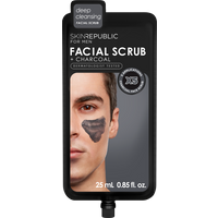 Skin Republic Facial Scrub and Charcoal for Men 25ml