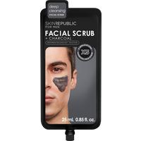 Skin Republic Facial Scrub & Charcoal for Men 25ml - Facial Gifts