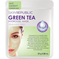 Skin Republic Green Tea Hydrogel Face Mask 25g - Green Tea Gifts