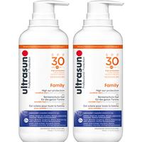 Ultrasun Super Sensitive Family SPF30 400ml x 2