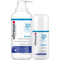 Ultrasun Sports SPF20 400ml and 125ml Duo