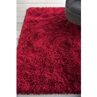 Next Collection Luxe Glimmer Rug - Red