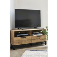 Next Bronx Light Corner TV Stand - Natural