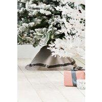 Next Sequin Embellished Tree Skirt - Grey