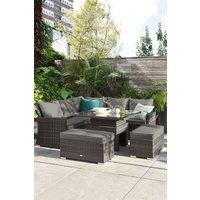 Next Monaco Slim Living And Dining Table Garden Set