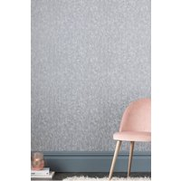 Next Paste The Wall Crushed Velvet Wallpaper - Silver