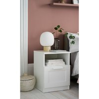 Flynn Bedside Table Studio Collection By Next - White