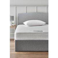 Next rolled open sprung memory foam medium mattress