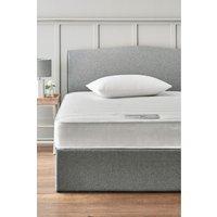 Next single rolled open sprung memory foam medium mattress