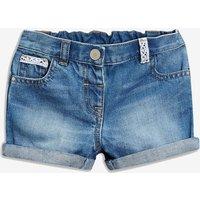 Girls Next Denim Turn-Up Shorts (3mths-7yrs) - Blue