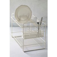 Next 2 Tier Dish Drainer - Cream