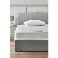 Next rolled open sprung memory foam firm mattress