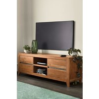 Next Amsterdam Wide TV Stand - Natural