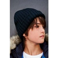 Boys Next Navy Beanie (Older) - Blue
