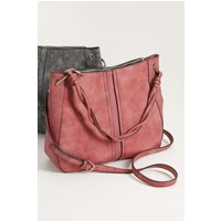 Womens Next Pale Pink Casual Hobo Bag - Pink