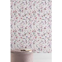 Next Paste The Paper Meadow Floral Wallpaper - Pink