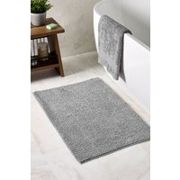 Next Bobble Bath Mat - Grey