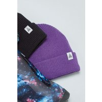 Boys Next Purple Rib Beanie (Older) - Purple