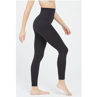 Womens SPANX Black High Waisted Look At Me Now Leggings - Black