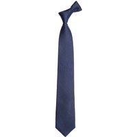 Mens Next Navy Wide Signature Textured Silk Tie - Blue