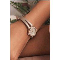 Womens Next Mink Ombre Shimmer T-Bar Watch - Pink