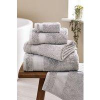 Next Egyptian Cotton Towel - Silver