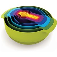 9 Piece Joseph Joseph Plus Multi Colour Nesting Set - Green