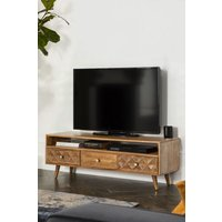Next Lloyd Wide TV Stand - Natural
