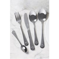 Next 32 Piece Heart Cutlery Set - Silver