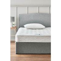 Next single rolled open sprung medium mattress