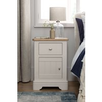 Next Hampton Storage Bedside Table - Natural