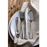 Next 16 Piece Heart Cutlery Set - Silver