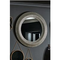 Next Nisha Mirror by Gallery - Pewter