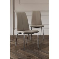 Next Set Of 2 Opus Dining Chairs - Natural