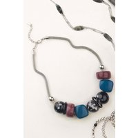 Womens Next Multicolour Resin Bead Necklace - Red