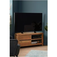 Next Amsterdam Corner TV Stand - Natural