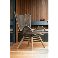 Next Bali Garden Chair And Footstool