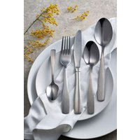 Next 32 Piece Studio Cutlery Set - Silver
