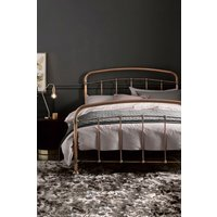 Next Shoreditch Metal Bedstead with footend - Copper