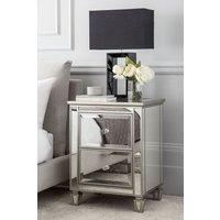 Next Fleur Bedside Table - Silver