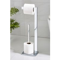 Next Moderna Toilet Roll Stand - Chrome
