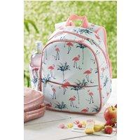 Next Kids Pink Flamingo Print Backpack - Pink