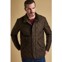 Mens Barbour Chelsea Quilted Jacket - Green