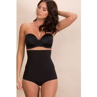 Womens Pour Moi Definitions High Waist Shaping Brief - Black