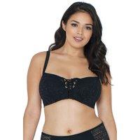 Womens Curvy Kate Rush Plunge Bikini H+ - Black