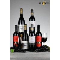 Next 6 Bottles World Merlot Red Wine Mixed Case - Red