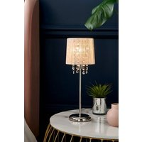 Next Small Palazzo Table Lamp - Chrome