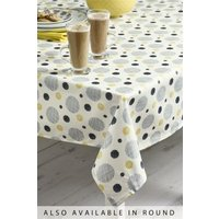 Next Wipe Clean Pendle PVC Tablecloth - Yellow