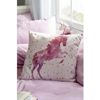 Next Magical Unicorn Cushion - Pink